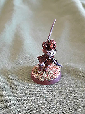Warhammer GW LOTR Lord of the Rings Aragorn painted metal