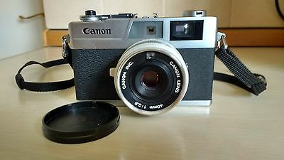 Canon Canonet 28 35mm Film Camera with 40mm Lens/f2.8