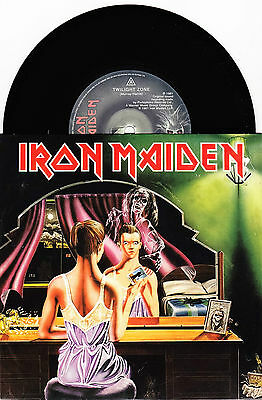 "Iron Maiden - Twilight Zone / Wrathchild - 7"" EU Vinyl 45 - New & Unplayed"
