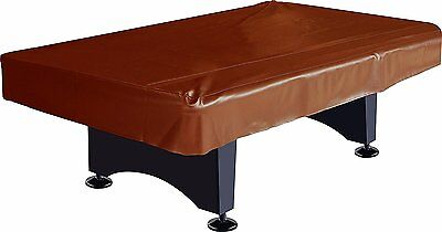 Imperial Billiard/Pool Table Fitted Naugahyde Cover, 8-Foot Table, Brown