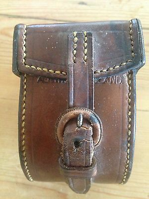 Hardy Bros Ltd Vintage Leather Reel Case
