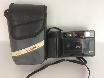 YASHICA T2D Af Camera With Carl ZEISS TESSAR 3,5/35 T* Lens
