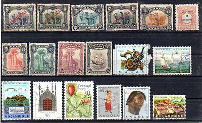 Portugal Colonies, very old + good lot, please check text !