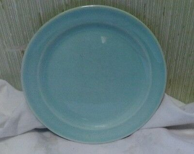 "Vintage TS&T Lu-Ray Pastel Green 6"" Bread Plate Taylor Smith Taylor"