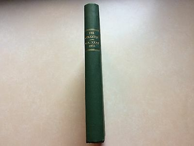 The Cricketer Magazine Vol XXXII 1951. Publishers Bound volume. Complete