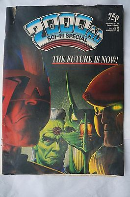 2000AD Sci-Fi Special 1987 Comic - 30 Years Old