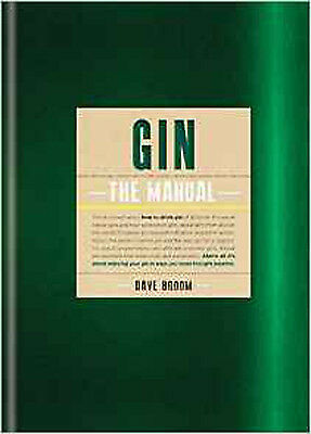 Gin: The Manual, New, Broom, Dave Book