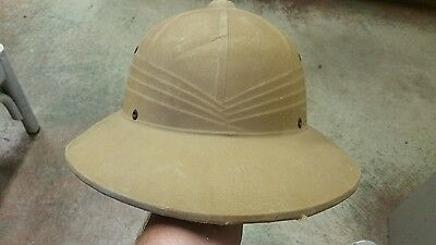 WW II US ARMY Pith Helmet well marked....no chin strap....
