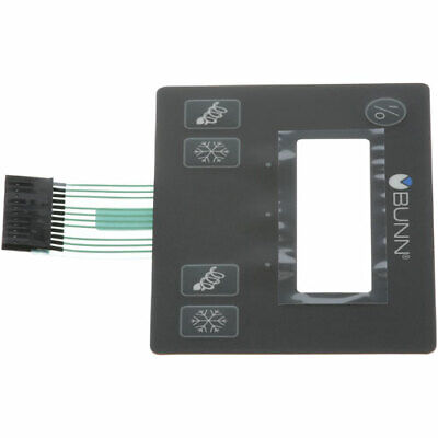 Bunn Ultra-2 Membrane Switch - 32126.1004 - FACTORY PART - New - 002