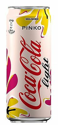 Rare lattina Coca Cola light can PINKO