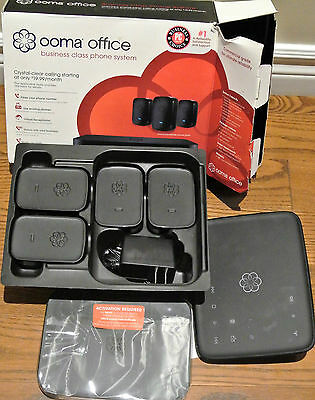 Ooma Office Business Class Phone System w/ 4 Linx Devices