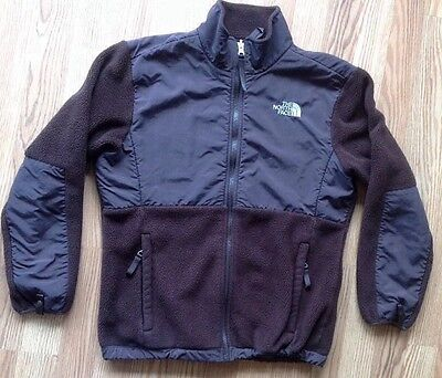 Youth The North Face Brown Denali Polartec Fleece Jacket Size Large Boys/Girls