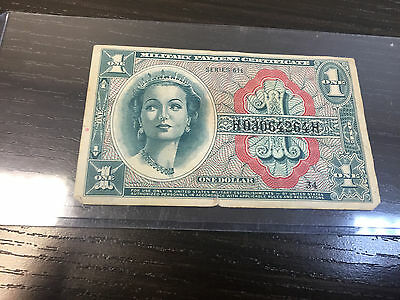 USA Military Payment Certificate Series 611 One (1) Dollar