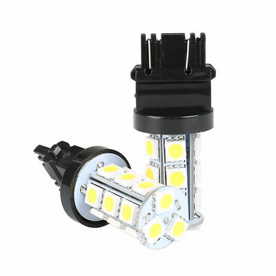 4x 3157 White 18SMD 5050 Reverse Brake/Stop/Turn Tail Back Up LED Light Bulb