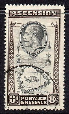 Ascension 8d Stamp c1934 Used SG27