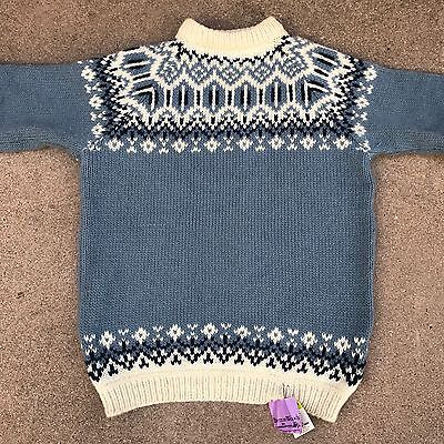Vtg Men's XXL Stobi Wool Nordic Ski Sweater