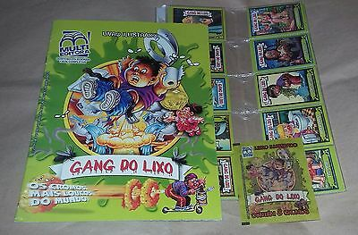 Garbage Pail Kids BRAZIL GANG DO LIXO Album + Complete Set Of Stickers + Packet