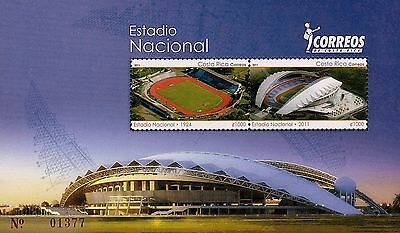 COSTA RICA OPENING of NEW NATIONAL STADIUM Sc 638 MNH 2011