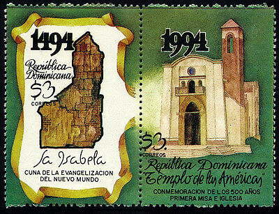 Dominican First Church the New World Sc 1170 MNH 1994
