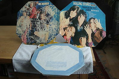 THE ROLLING STONES - THROUGH THE PAST DARKLY-OCTAGONAL-STEREO-1st  PRESS -UK LP