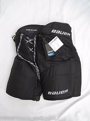 NWT Bauer Nexus 800 Classic Fit Black Ice Hockey Pants Womens Size M 1041250