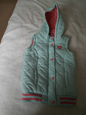 George Light Green Gilet Age 8-9 Years In Great Condition