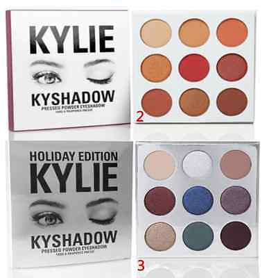 New Xmas Limited Edition Holiday Collection Kyshadow Palette 9 color eye shadow