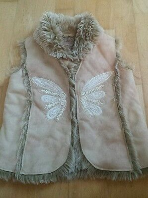girls monsoon gillet age 4-6 years