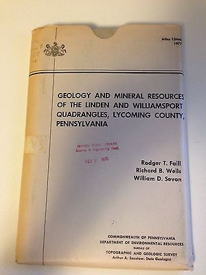 Geology/mineral Resources/linden/williamsport Quadrangle-Lycoming County-Pa-1977