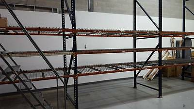Used Warehouse Pallet Racks 8 sections