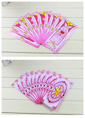Anime 54 Pcs/Set Card Captor Sakura KINOMOTO SAKURA Cards Collect Box Cosplay