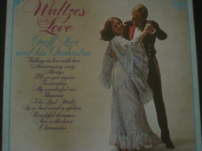Geoff Love & His Orchestra - Waltzes With Love Vinyl LP / Album - MFP 50192 1975