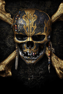 Pirates of the Caribbean - Dead Men Tell No Tales - A3 Movie Poster