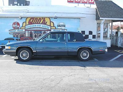 1991 Cadillac DeVille Carriage Roof 1991 Cadillac Deville Mint Condition Navy Leather Real Wire Wheels Fully Loaded