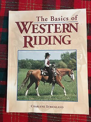"Horse Books ""The Basics Of Western Riding"""