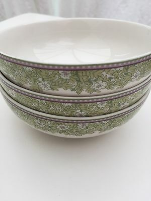Denby Daisy Cereal Bowls New