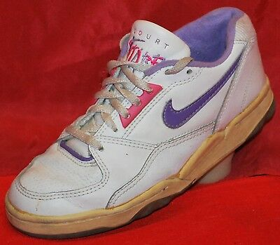 NIKE Court Flare low Trainers Sneakers 90´ Vintage NO RETRO Gr. 36,5 * RARE