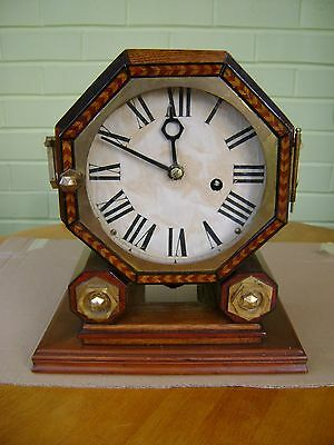 Wooden Mantel Clock.