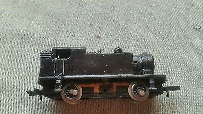 A model railway locomotive in N gauge by Graham farish non runner unboxed