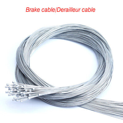 Bicycle Derailleur Cables Mountain/Road Bike Brake Inner Wire Cable Parts 10PCS