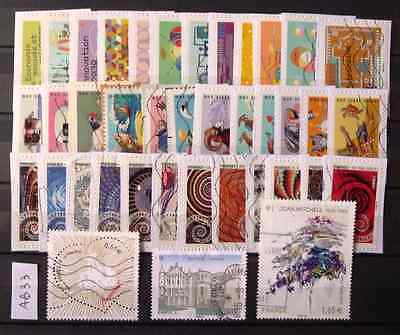 Ab33 Lot Timbres France Ob 2014 - 1 Cachet Rond - 3 Series