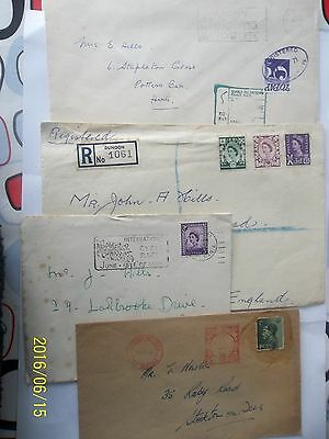 Mixed Lot Of Covers With Stamps