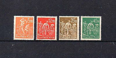 set of 4 mint early germany stamp.1923