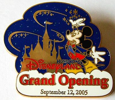 Hong Kong Disney Pin * Cast Exclusive Grand Opening Mickey Mouse
