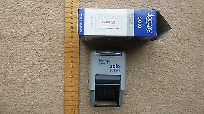 Dormy self inking Received and Date Stamp, 4mm date size, used but great cond