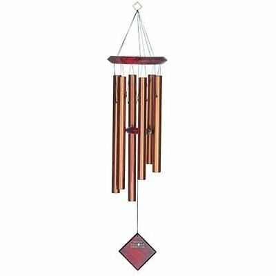 Woodstock Chimes Bronze Mountain of Light Wind Chime New in Box