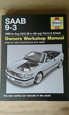 Saab 9-3 Petrol and Diesel Service and Repair Manual: 1998 to 2002 by A. K....