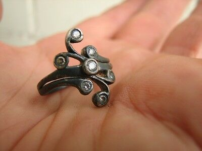 VERY NICE VINTAGE SILVER  RING with  STONE #5070