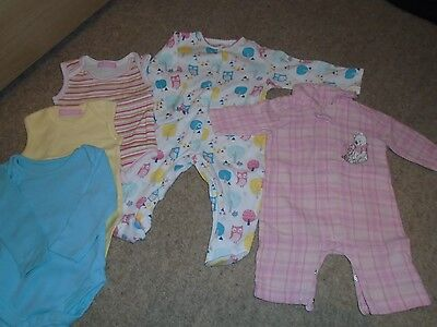 Girls Bedtime Bundle -0/3 Months - Fab Condition