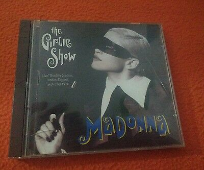 Madonna ‎– The Girlie Show - raro cd rare,  Live In London, Very difficult 1993